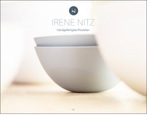 IRENE NITZ Handgefertigtes Pozellan