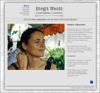 Screen Birgit Weidt