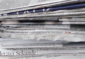 mt.media Zeitungsstapel