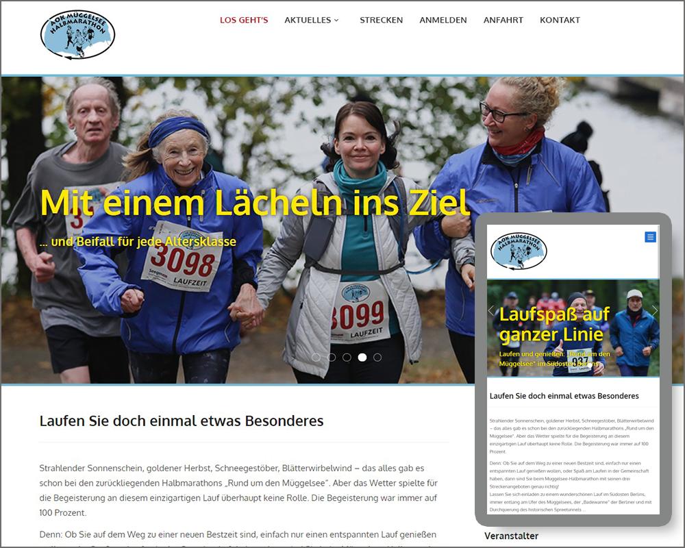 mt.media Müggelsee-Halbmarathon