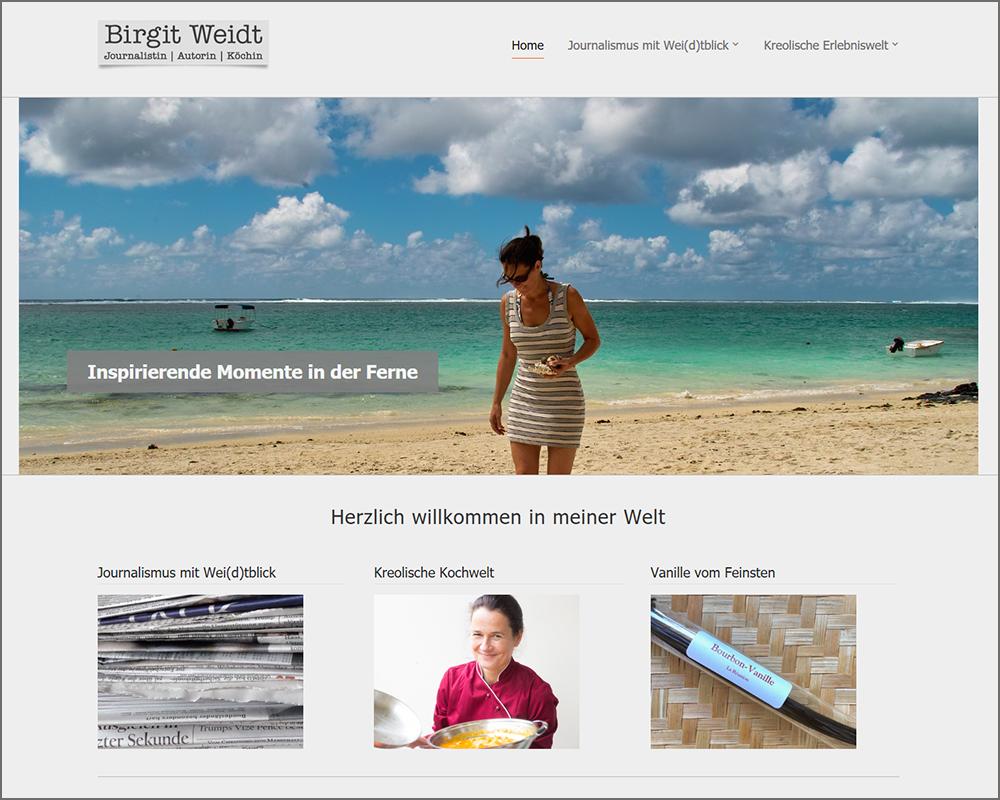 Webseite mtmedia | Birgit Weidt